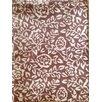 Purvaai Rose Natural Tablecloth
