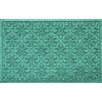 Bungalow Flooring Aqua Shield Medallion Doormat
