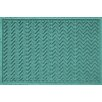 Bungalow Flooring Aqua Shield Chevron Doormat