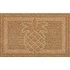 Bungalow Flooring Forever KoCo Linton Pineapple Doormat