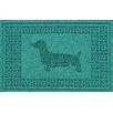 Bungalow Flooring Aqua Shield Dachshund Doormat
