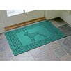 Bungalow Flooring Aqua Shield Boston Terrier Doormat
