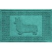 Bungalow Flooring Aqua Shield Corgi Doormat