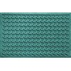 Bungalow Flooring Aqua Shield Houndstooth Doormat