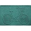 Bungalow Flooring Aqua Shield Nantucket Bicycle Doormat