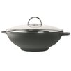 Rohe Germany Modena 32cm Non-Stick Aluminum Wok with Lid