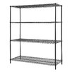 Excel Hardware All Purpose 4 Shelf Shelving Unit II