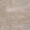 "MS International Pietra 2"" x 4"" Porcelain Mosaic Tile in Pearl"