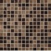 MS International Iridescent 0.75'' x 0.75'' Glass Mosaic Tile in Brown