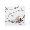 Avalisa Imaginations Bird Nest Stretched Canvas Art
