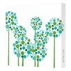 Avalisa Imaginations Allium Canvas Art