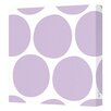 Avalisa Pattern Big Dots Stretched Canvas Art