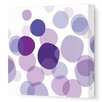 Avalisa Imaginations Bubbles Stretched Art on Wrapped Canvas
