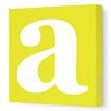Avalisa Lower Case Letter Painting Print on Wrapped Canvas