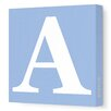 Avalisa Letter Upper Case Graphic Art on Canvas