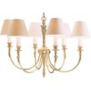 Impex Lighting Brooklands Richmond 6 Light Candle-Style Chandelier