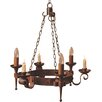 Impex Lighting Smithbrook Refectory 3 Light Candle-Style Chandelier