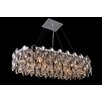 Impex Lighting Kristall-Pendelleuchte 10-flammig Raina