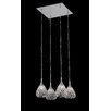 Impex Lighting Simone 4 Light Cascade Pendant
