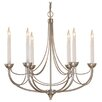 Impex Lighting Smithbrook Cirrus 6 Light Candle-Style Chandelier