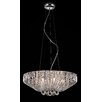 Impex Lighting Carlo 7 Light Crystal Chandelier