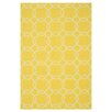 Loloi Rugs Ventura Yellow/Ivory Geometric Indoor/Outdoor Area Rug