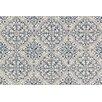 Loloi Rugs Francesca Blue/White Floral Area Rug