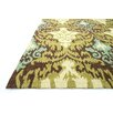 Loloi Rugs Francesca Brown & Green Area Rug