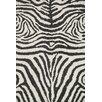 Loloi Rugs Kiara Shag Ivory/Charcoal Area Rug