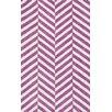 Loloi Rugs Piper Chevron Pink/White Area Rug