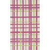 Loloi Rugs Piper Plaid Pink/White Area Rug