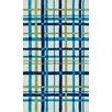 Loloi Rugs Piper Plaid Blue/White Area Rug