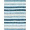 Loloi Rugs Piper Striped Dark Blue & White Area Rug
