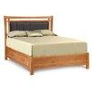 Copeland Furniture Monterey Upholstered Microsuede Storage Panel Bed