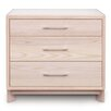 Copeland Furniture Contour 3 Drawer Dresser