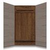 Moduluxe 1 Drawer over 1 Door Corner Chest