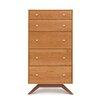 Copeland Furniture Astrid 5 Drawer Chest