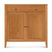 Copeland Furniture Dominion 1 Drawer with Cabinet Overhanging Top