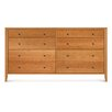 "Copeland Furniture Dominion 73""W 8 Drawer Chest"