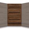 Copeland Furniture Moduluxe 3 Drawer Corner Chest