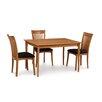 Copeland Furniture Sarah 4 Piece Dining Set