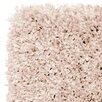 Mastercraft Rugs Luxury Shaggy Pink Area Rug