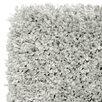 Mastercraft Rugs Luxury Shaggy Silver Grey Area Rug