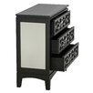 Aspire Jasmine Mirrored 3 Drawer Chest