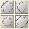 Aspire Richmond Wall Mirrors (Set of 4)