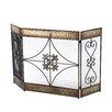 Aspire 3 Panel Wrought Iron Fireplace Screen
