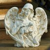 Angel with Lamb Garden Statue - Roman, Inc. Garden Statues and Outdoor Accents