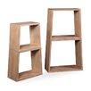 "Bassett Mirror Belgian Luxe Laflin Nesting 78"" Etagere Bookcase"