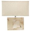 """Jamie Young Company Borealis 24"""" H Table Lamp with Rectangular Shade"""