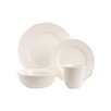Red Vanilla Nantucket White 16 Piece Dinnerware Set